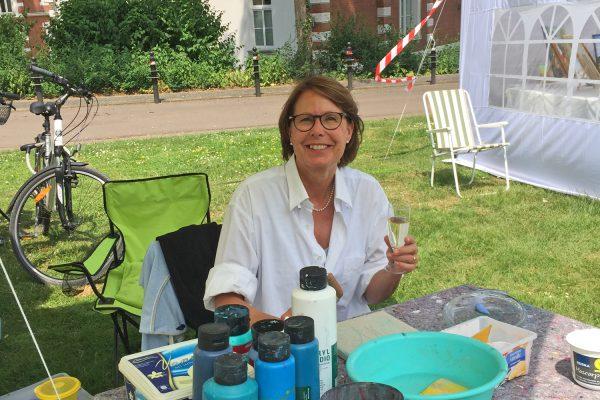 """Barbara Groth / Ausstellung: """"Vielfalt"""" im Kleinstadtrevier"""