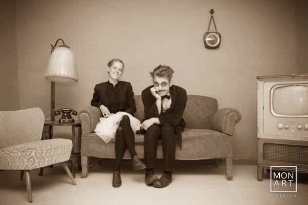 Monsieur & Pianistin Nora Born